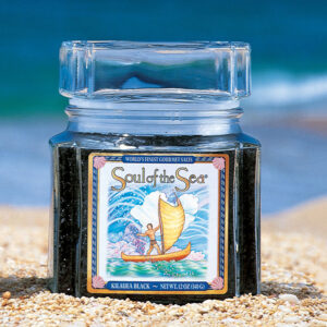 Soul of the sea black hawaiian sea salt
